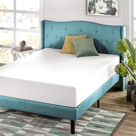 Twin Mattress Memory Foam 8 10 12 Inch Comfort Quilted Microfiber Green Tea NEW