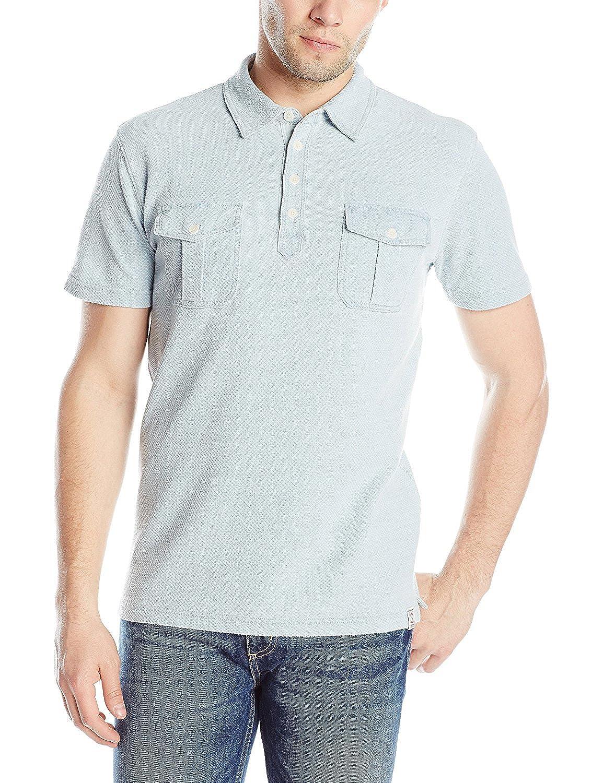 Lucky Brand Hombres Camisa de Polo en luz Azul: Amazon.es: Ropa y ...
