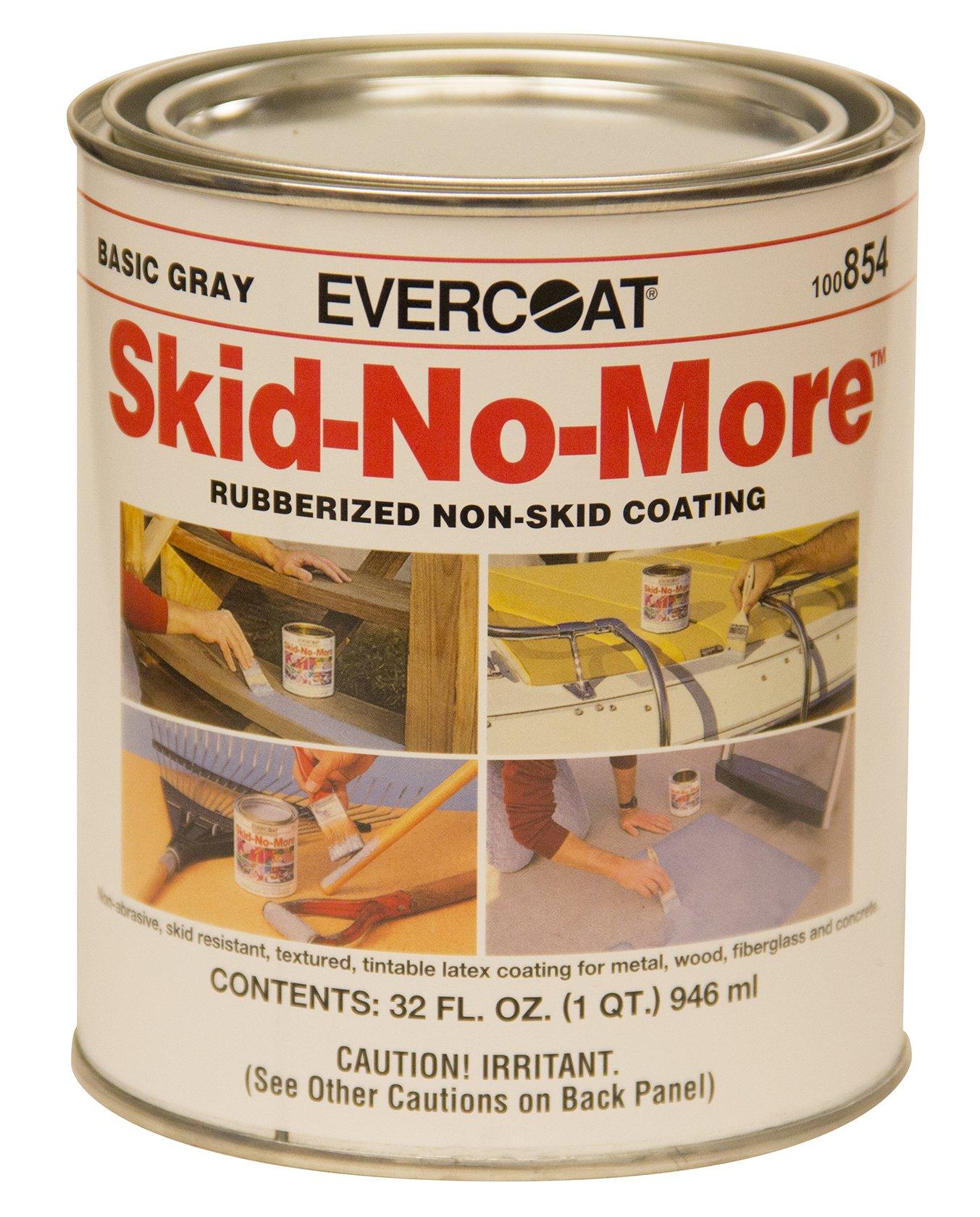 Evercoat 100854 Skid-No-More Rubberized Non-Skid Coating, 1 quart