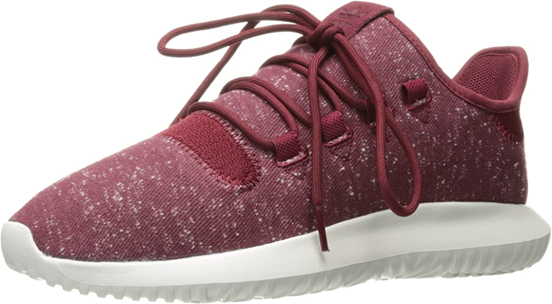 0533c7d56f99a Men's Tubular Shadow Sneaker Running Shoe, Collegiate Burgundy/Crystal  White, 13 D(M) US