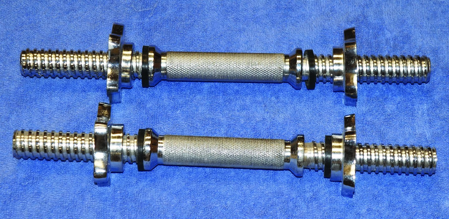 TDS Threaded Dumbell Bars 14 Sold As Pair