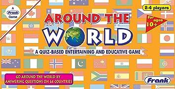 Frank Around The World Juego de Mesa Familiar para niños de 10 años y más: Amazon.es: Juguetes y juegos