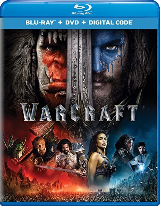 Amazon Com Warcraft Blu Ray Dvd Digital Hd Travis Fimmel