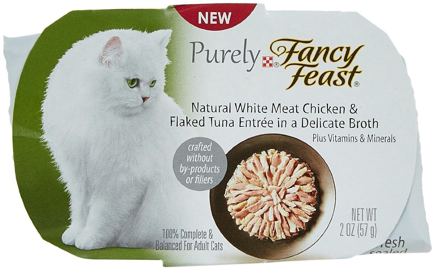 Fancy Feast Purely White Meat Chicken & Flaked Tuna
