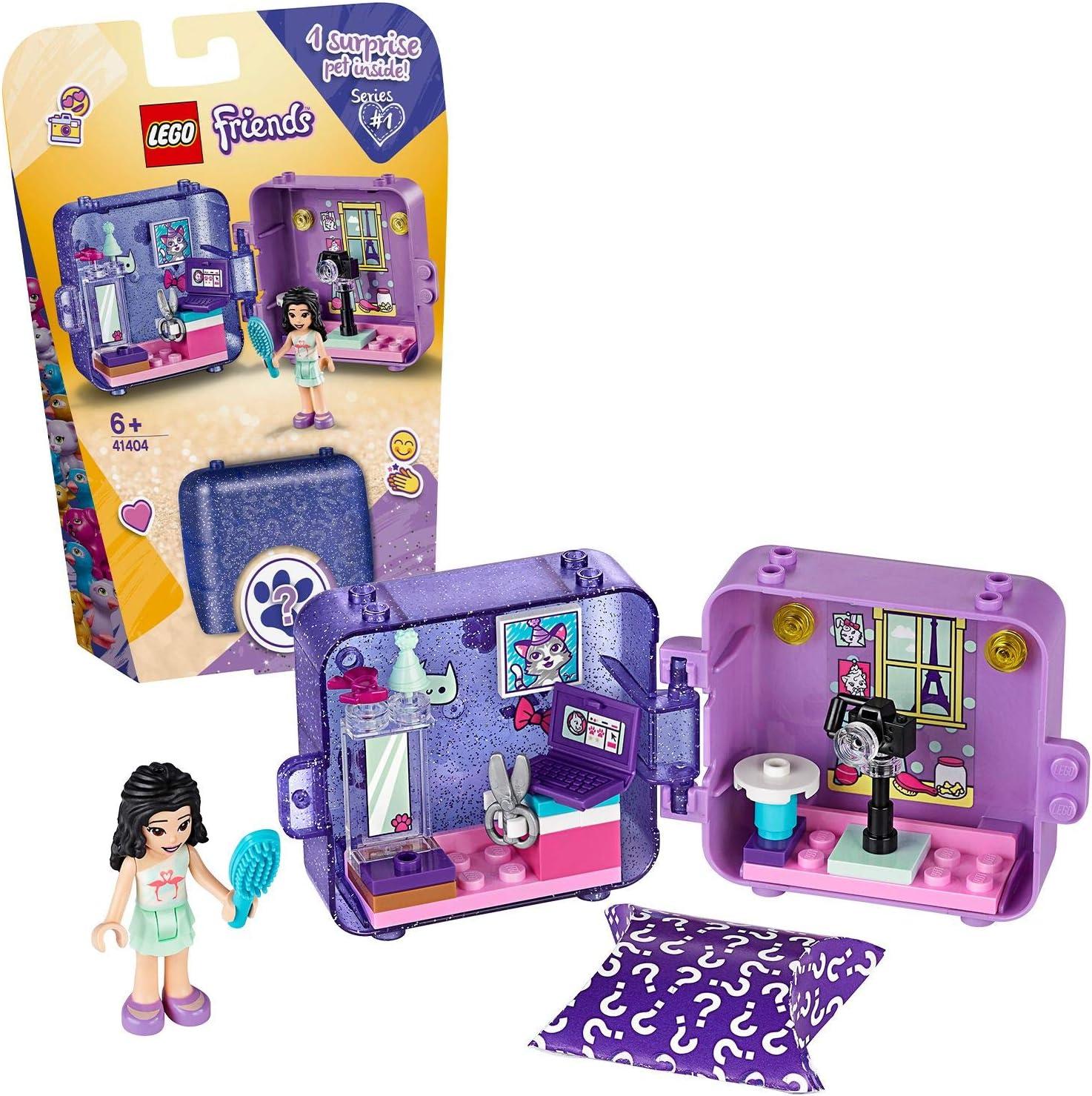 LEGO Friends - Cubo de Juegos de Emma, Caja de Juguete con Accesorios y Mini Muñeca de Emma, Set Recomendado a Partir de 6 Años (41404) , color/modelo surtido: Amazon.es: Juguetes y juegos