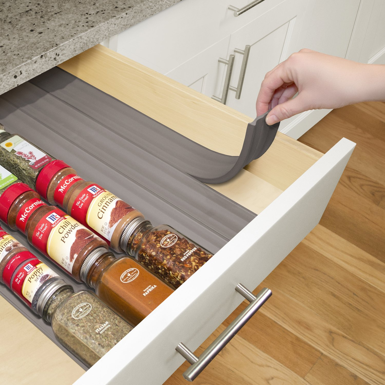 Amazon YouCopia SpiceLiner In Drawer Spice Organizer 6 Pack
