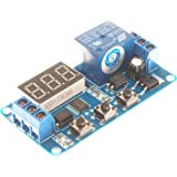 SMAKN® DC 12V Digital Display Trigger Cycle Time Delay Relay Module Board
