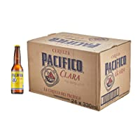 Pacifico Clara Mexican Beer Bottles 24x355ml