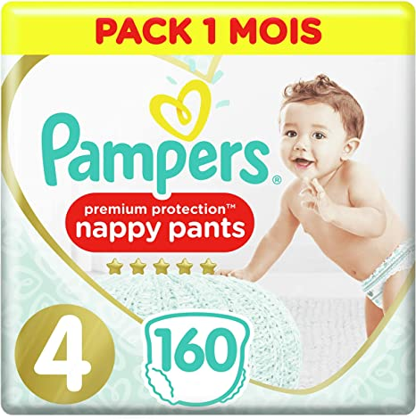 Pampers Active Fit Size 4 Nappies Absorbing Channels Pack of 168 Diapers 8-16 kg