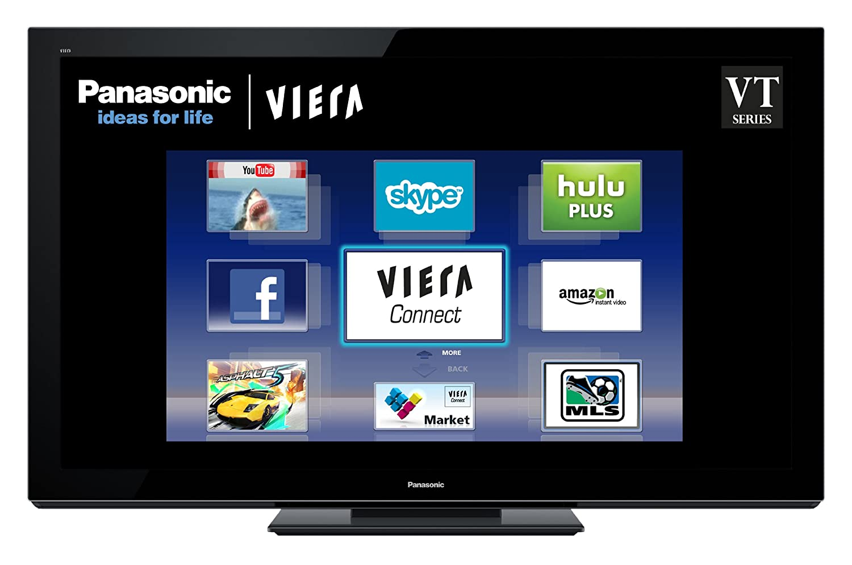 Amazon.com: Panasonic VIERA TC-P65VT30 65-inch 1080p 3D Plasma HDTV, Black  (2011 Model): Electronics