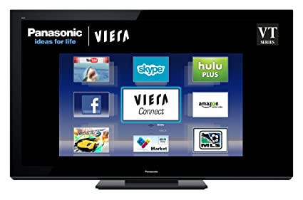 amazon com panasonic viera tc p65vt30 65 inch 1080p 3d plasma hdtv rh amazon com
