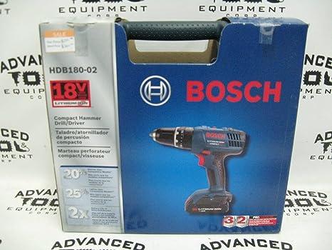 Amazon.com: Bosch HDB180-02 18V Compact 3/8