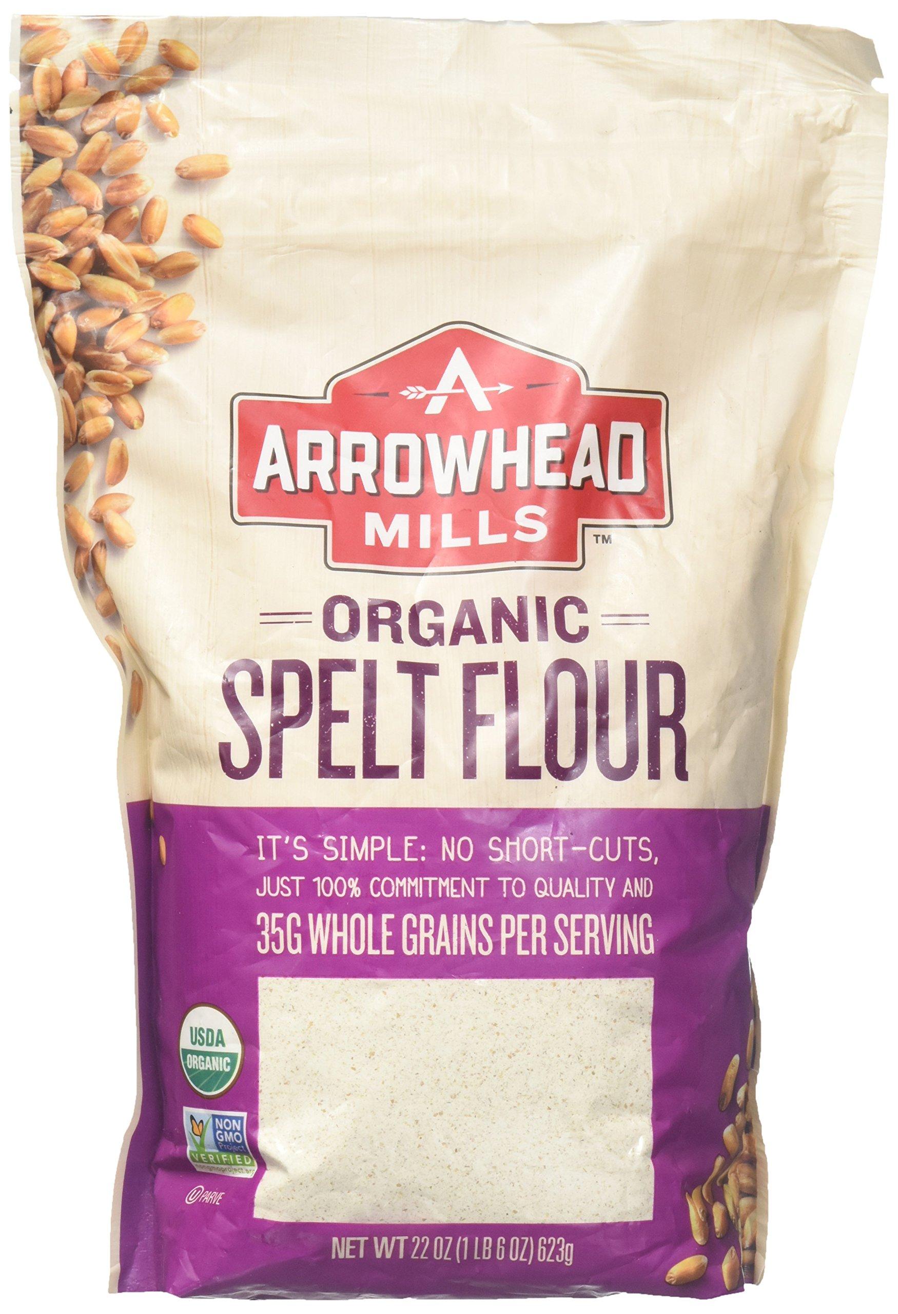 Amazon.com : Arrowhead Mills Flour Rye Organic, 20 oz