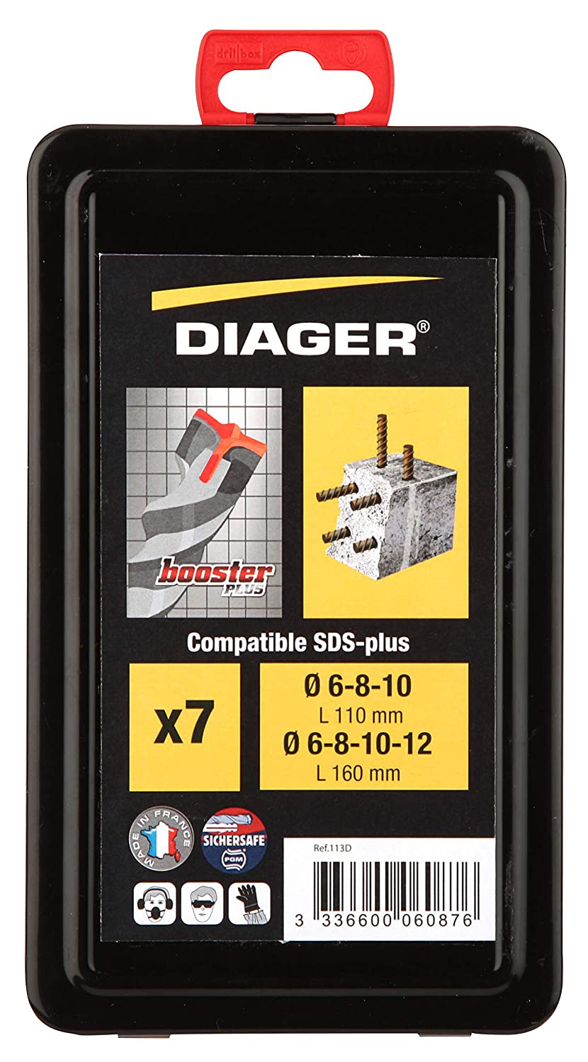 Diager Foret B/éton Booster SDS 6,5X160Mm