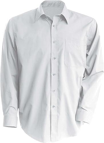 Amelia - Camisa de camarero de poliéster y algodón: Amazon.es: Ropa y accesorios
