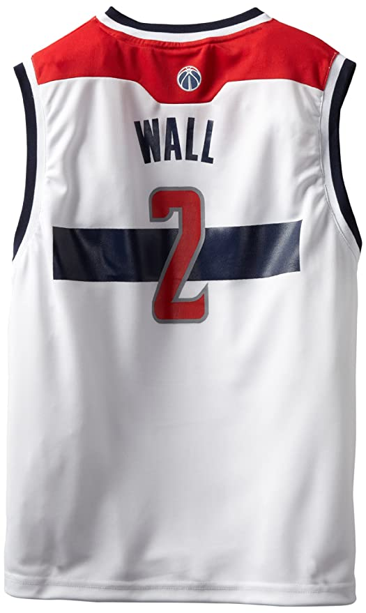 NBA Washington Wizards John Wall # 2 juventud réplica camiseta, color blanco - 28E5Z ZV, Blanco: Amazon.es: Deportes y aire libre
