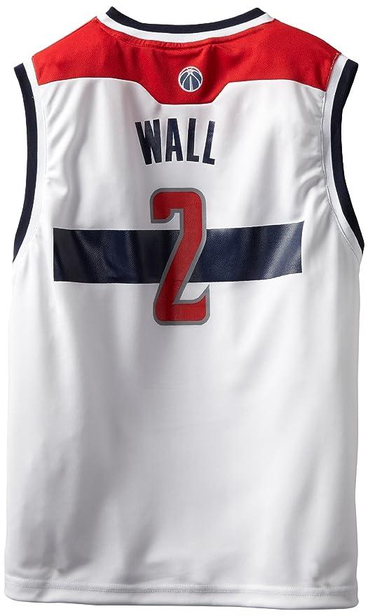 NBA Washington Wizards John Wall # 2 juventud réplica camiseta, color blanco - 28E5Z ZV, Blanco: Amazon.es: Deportes y aire libre