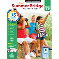 Summer Bridge Activities Workbook―Bridging Grades 1 to 2 in Just 15 Minutes a Day, Reading, Writing, Math, Science…