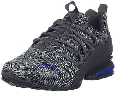 45856a29d21e PUMA Men's AXELION Sneaker, Asphalt-Quarry-Sodalite Blue, ...