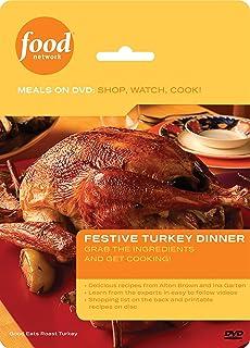 Amazon food network meals on dvd shop watch cook the great food network meals on dvd shop watch cook festive turkey dinner forumfinder Choice Image