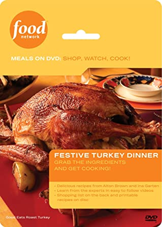 Amazon food network meals on dvd shop watch cook food network meals on dvd shop watch cook festive turkey dinner forumfinder Choice Image