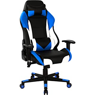 HOMEFUN Gaming Chair, Ergonomic Swivel High Back Racing Style Computer Chair  Executive Office Desk