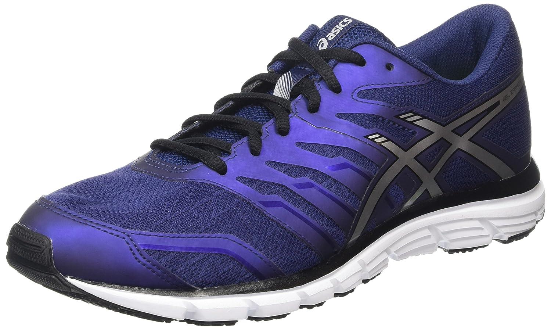 Asics - Gel-Zaraca 4, Zapatillas de Running Hombre 48 EU Azul (Indigo Blue/Silver/Black 5093)