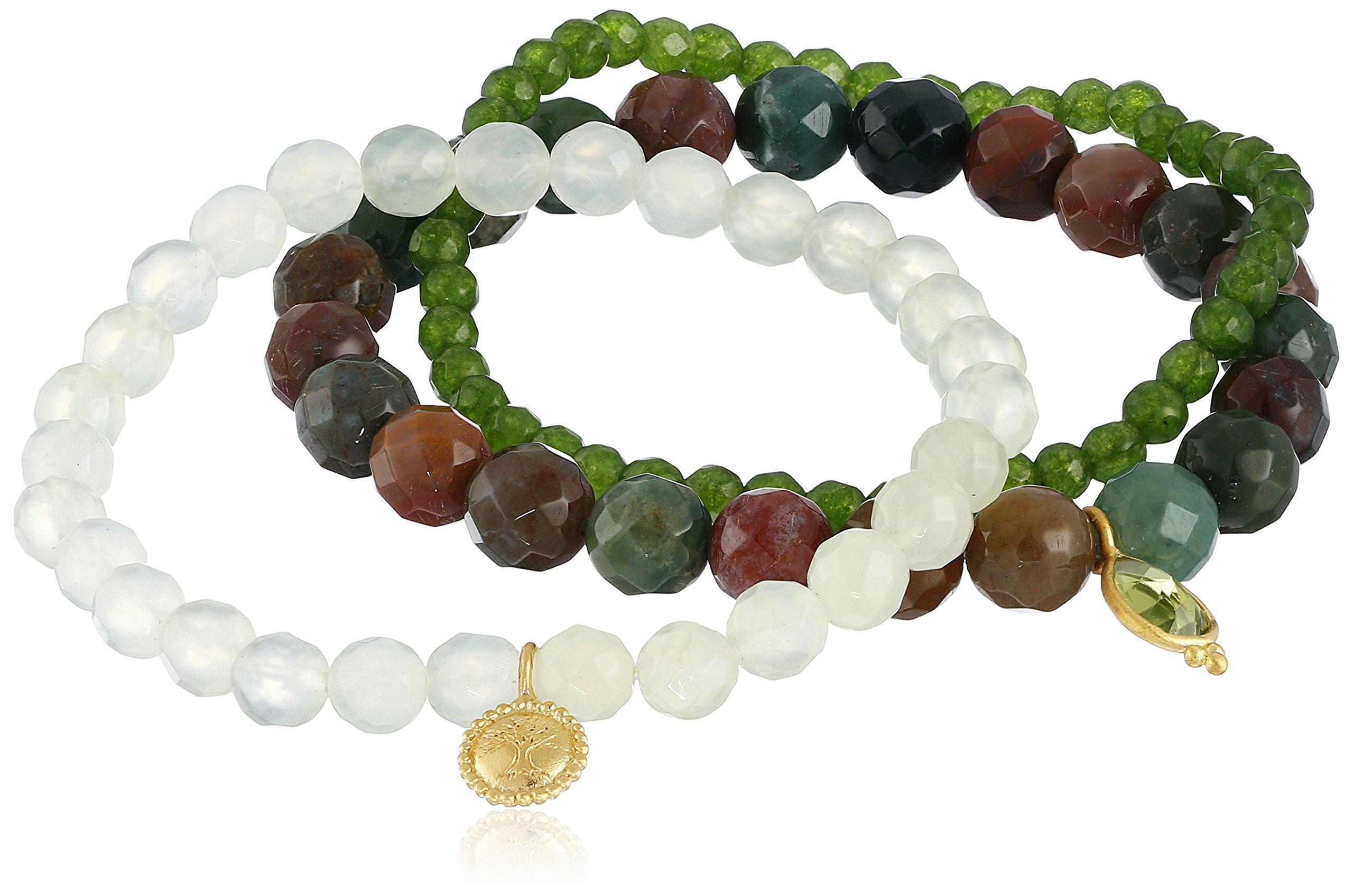 Satya Jewelry New Classics Grounding Tranquility Stretch Bracelet