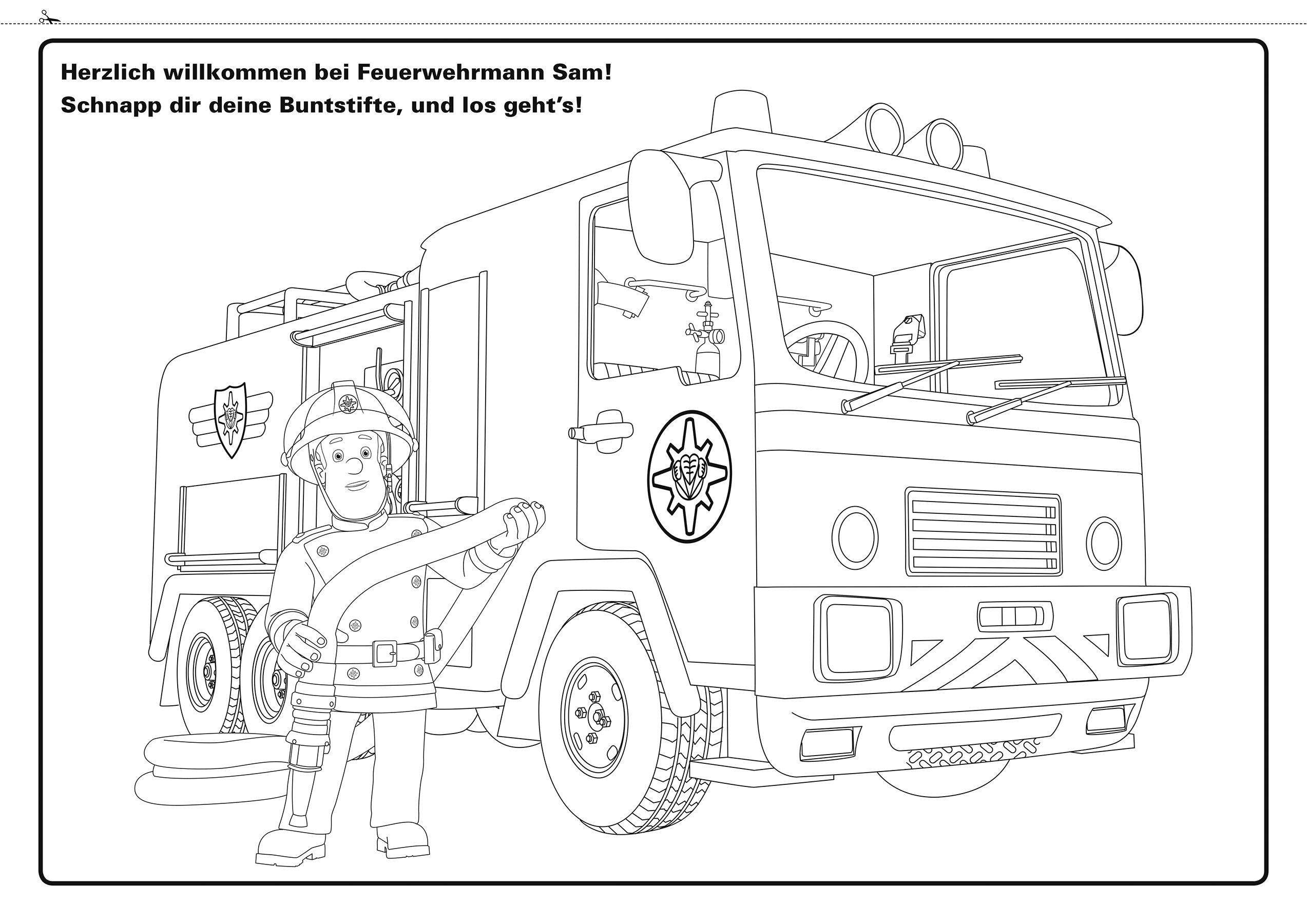 Ausmalbilder Feuerwehrmann Sam Jupiter : Erfreut Feuerwehrmann Malbuch Fotos Malvorlagen Von Tieren Ngadi