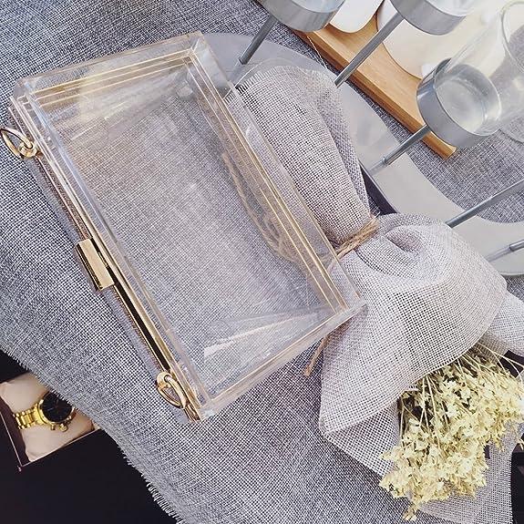 554f98dc52d6 Onorner Acrylic Evening Handbag Designer Cross-Body Purse Bag Women ...
