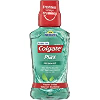 Colgate Plax Antibacterial Alcohol Free Bad Breath Control Mouthwash Freshmint 250mL