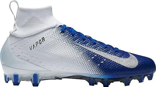 blue football cleats