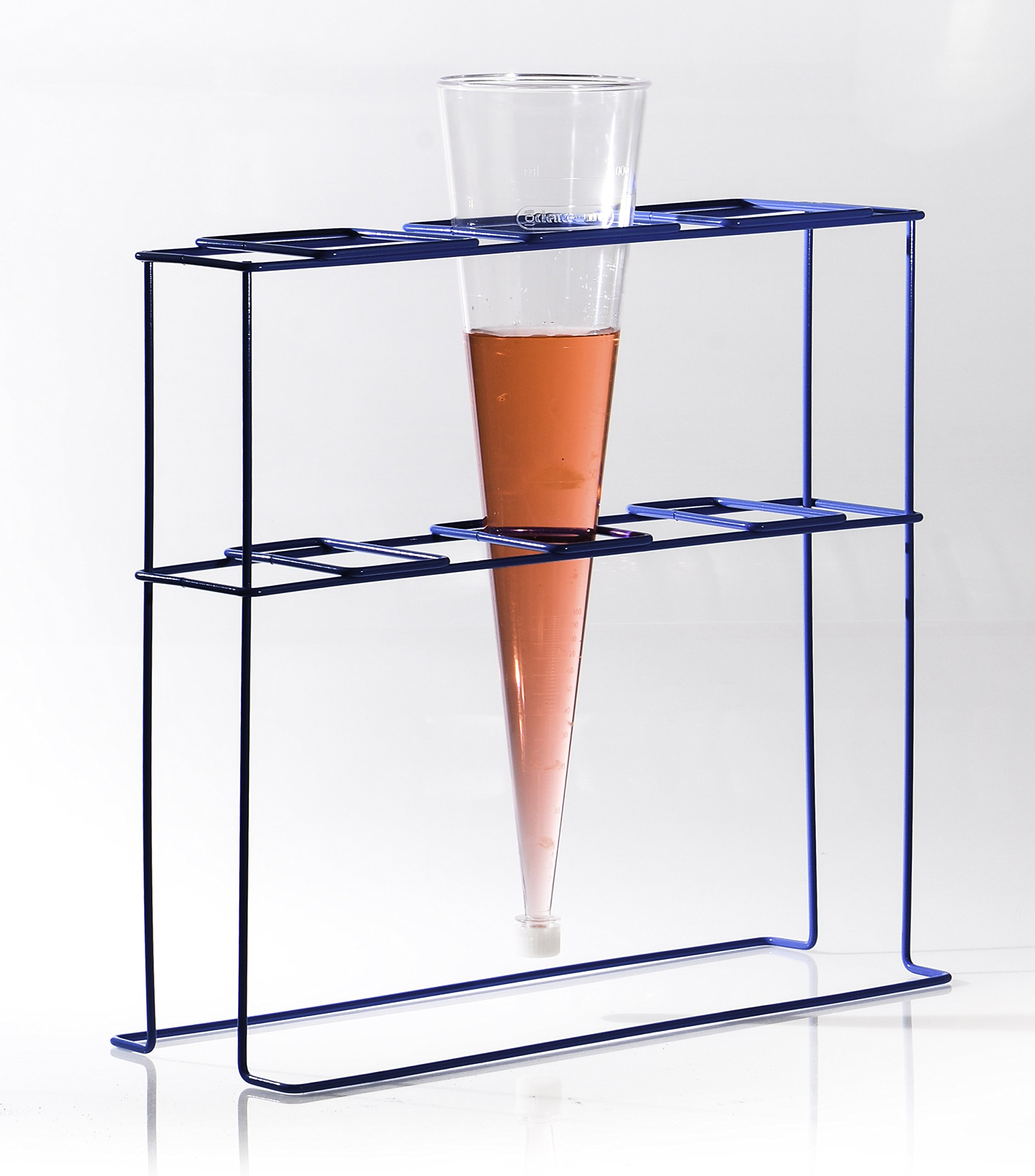 Bel-Art Poxygrid Imhoff Cone Rack; 3 Places, 17¹⁄₂ x 6³⁄₄ x 16 in. (F38993-0003) by SP Scienceware (Image #3)