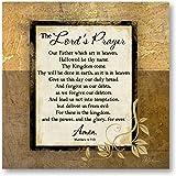 Amazon.com: The Lords Oración Nuestro Padre – Mini póster ...
