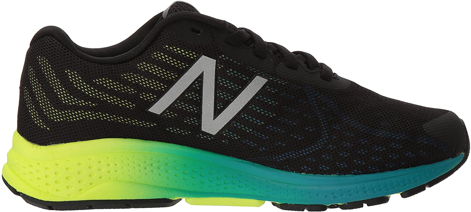 New Balance Unisex-Kinder Vazee Rush V2 Sneakers Mehrfarbig (Blue/Yellow)