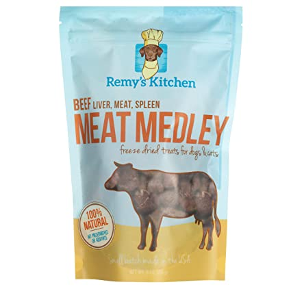 Amazon Com Remy S Kitchen Beef Meat Medley Pet Supplies