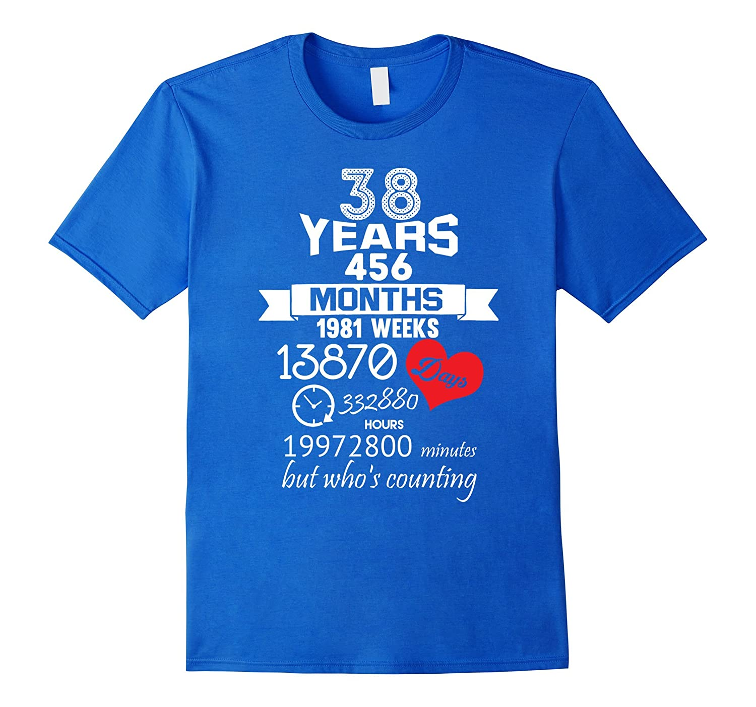 38th Wedding Anniversary Gift Ideas: 38 Years Wedding Marriage Ideas-TD