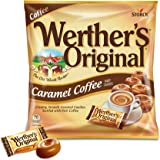 WERTHER'S ORIGINAL Caramel Coffee Hard Candy, 5.5 Ounce Bag (Pack of 12), Bulk Candy, Individually Wrapped Candy Caramels, Ca