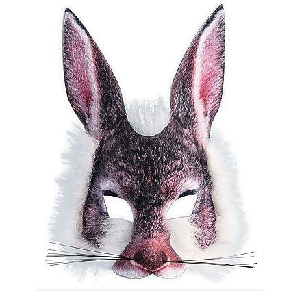 Adulto infantil REALISTA artificial de Lobo Máscara Pack Animal ...