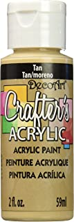 product image for DecoArt Crafter's Acrylic Paint, 2-Ounce, Tan