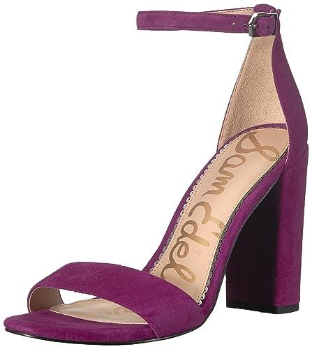 432ecfc88 Sam Edelman Women s Yaro Heeled Sandal Purple Plum 10.5 ...