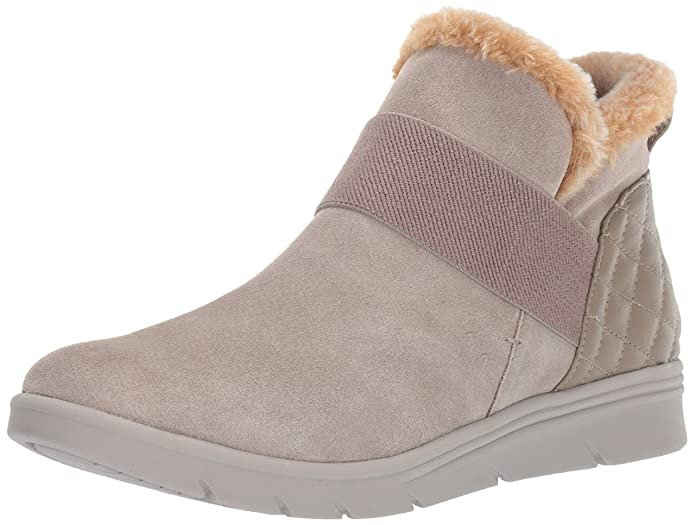 Easy Spirit Women's Grizzly Ankle Boot, Taupe, 8 M US