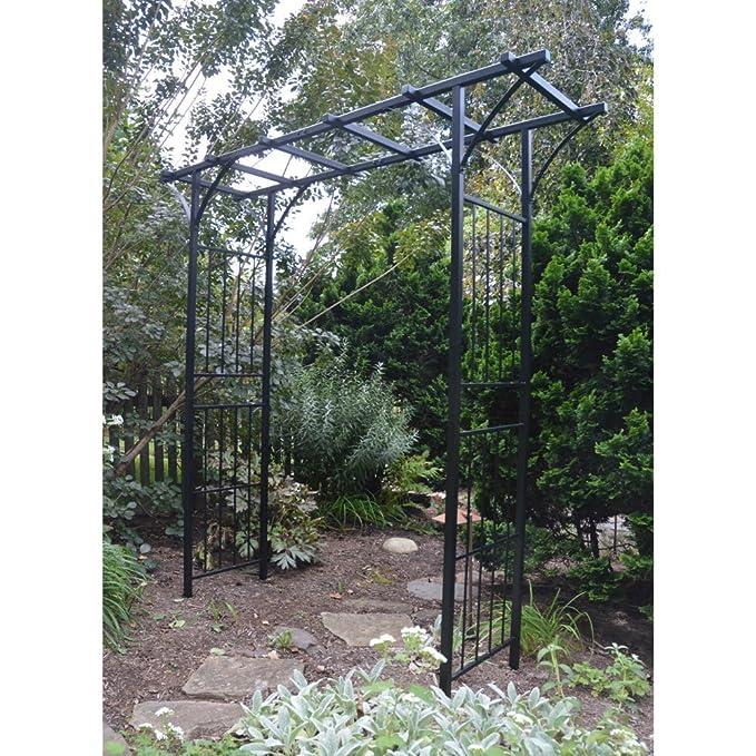 - Amazon.com : Pergola 7 Ft. Steel Arbor : Garden & Outdoor