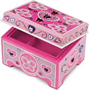 Melissa & Doug Created by Me! Jewelry Box Wooden Craft Kit - The Original (Great Gift for Girls and Boys – Best for 4, 5, 6,