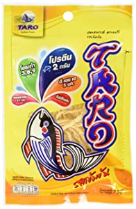 Thai Taro Fish Snack Spicy Flavor 7.5g (Pack of 12)