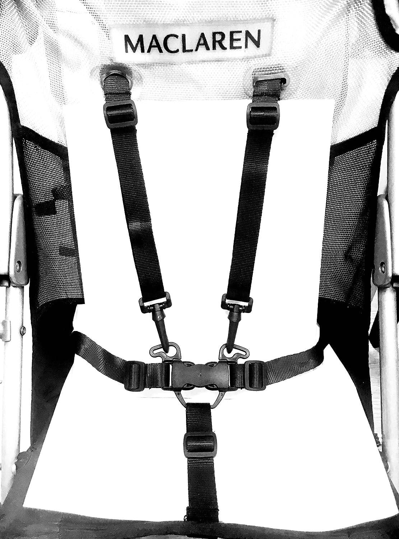 Arnes de seguridad para trona, triciclo y silla de paseo: Amazon ...