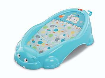 Amazon.com : Fisher-Price Handy Hippo Bather : Baby Bathing Seats ...