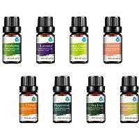 :Pursonic 100% Pure Essential Aromatherapy Oils Gift Set-8 Pack, 10ML Eucalyptus...