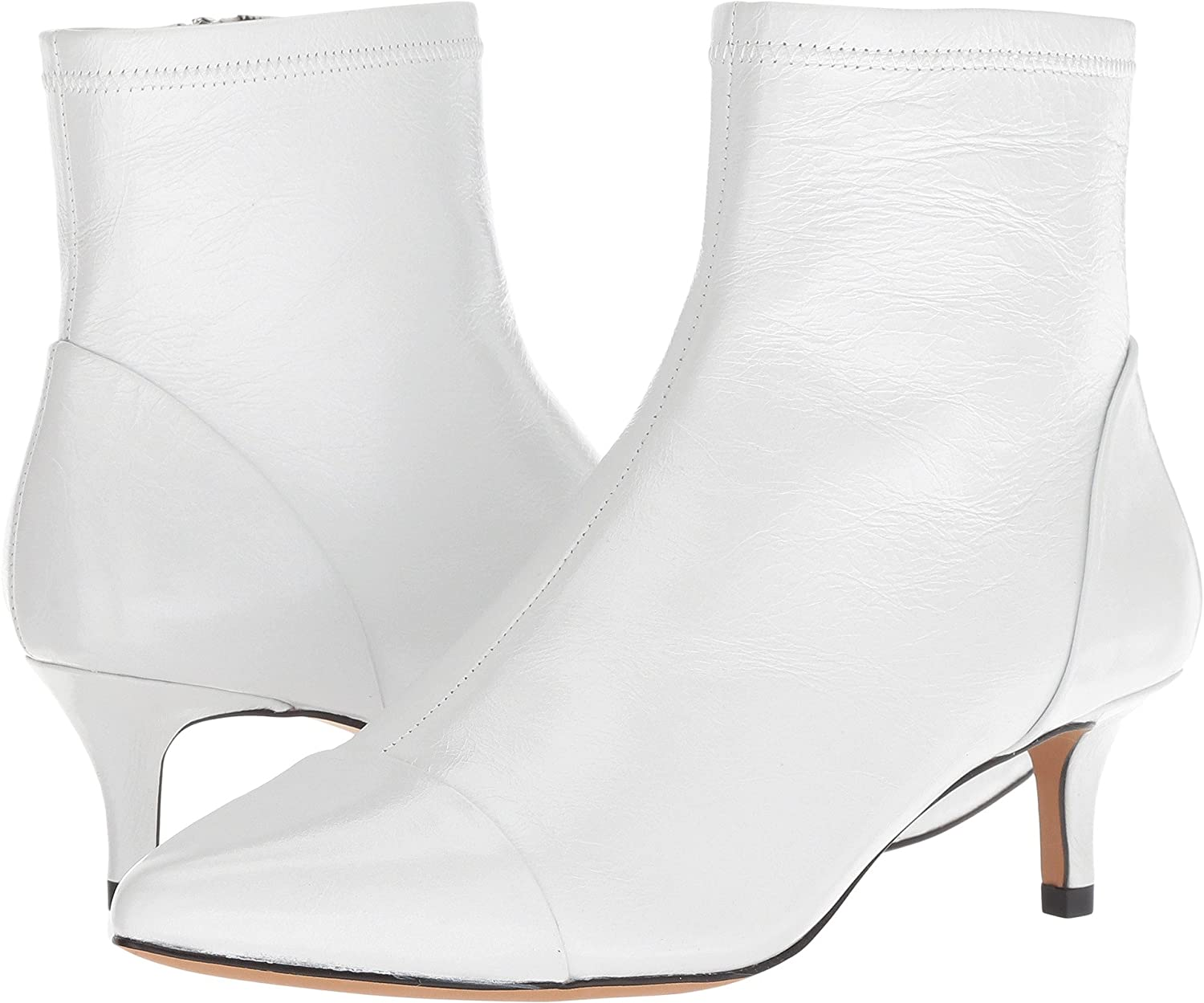 Rebecca Minkoff Womens Siya B07C5223LW 5.5 B(M) US|White Shiny Leather
