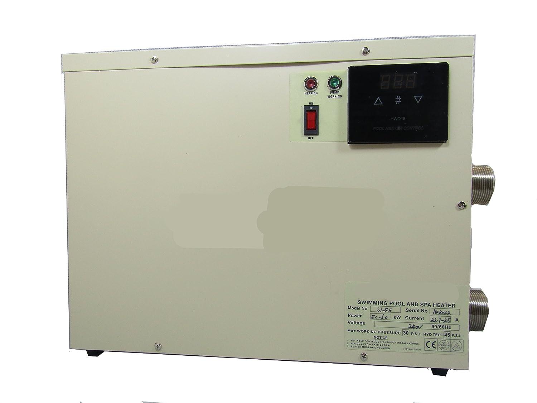 gr-tech Instrumento® 5.5 KW Calentador de agua para piscina y baño Tubo 220 V-240 V/380 V-415 V: Amazon.es: Industria, empresas y ciencia